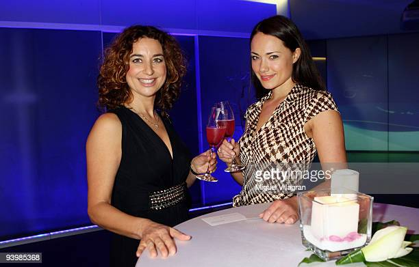 SarahMaria Besgen and Isabel Varell attends the 'ARD Advent Dinner' on December 4 2009 in Munich Germany