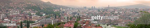 Sarajevo, panoramic photo