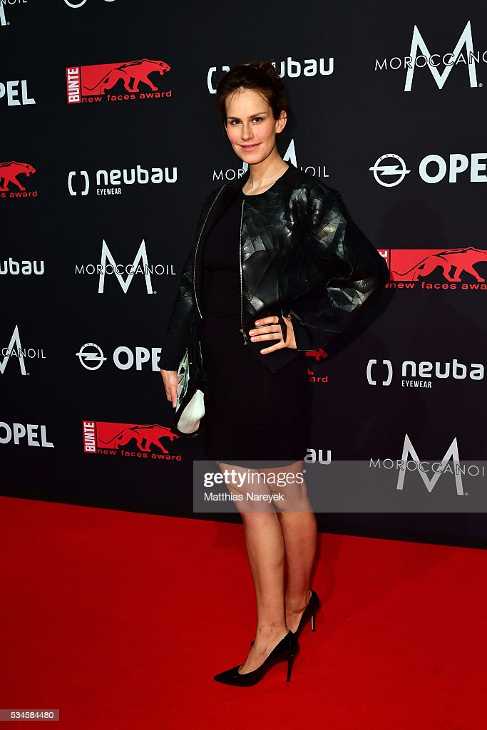 Saralisa Volm during the New Faces Award Film 2015 at ewerk on May 26, 2016 in Berlin, Germany.