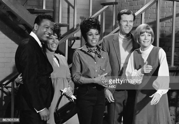 JULIA 'Sara's Second Part' Episode 26 Pictured Sugar Ray Robinson as Clyde Porter Diana Sands as cousin Sara Diahann Carroll as Julia Baker Hank...