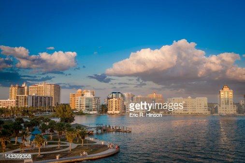 Sarasota waterfront, Florida