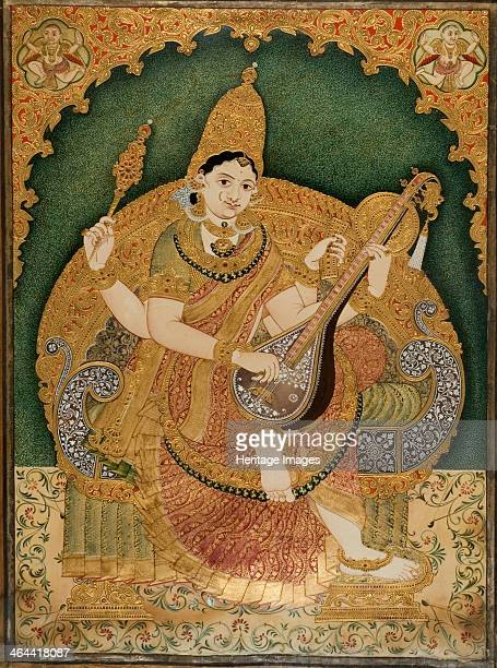 Saraswati Found in the collection of the National Gallery of Modern Art New Delhi