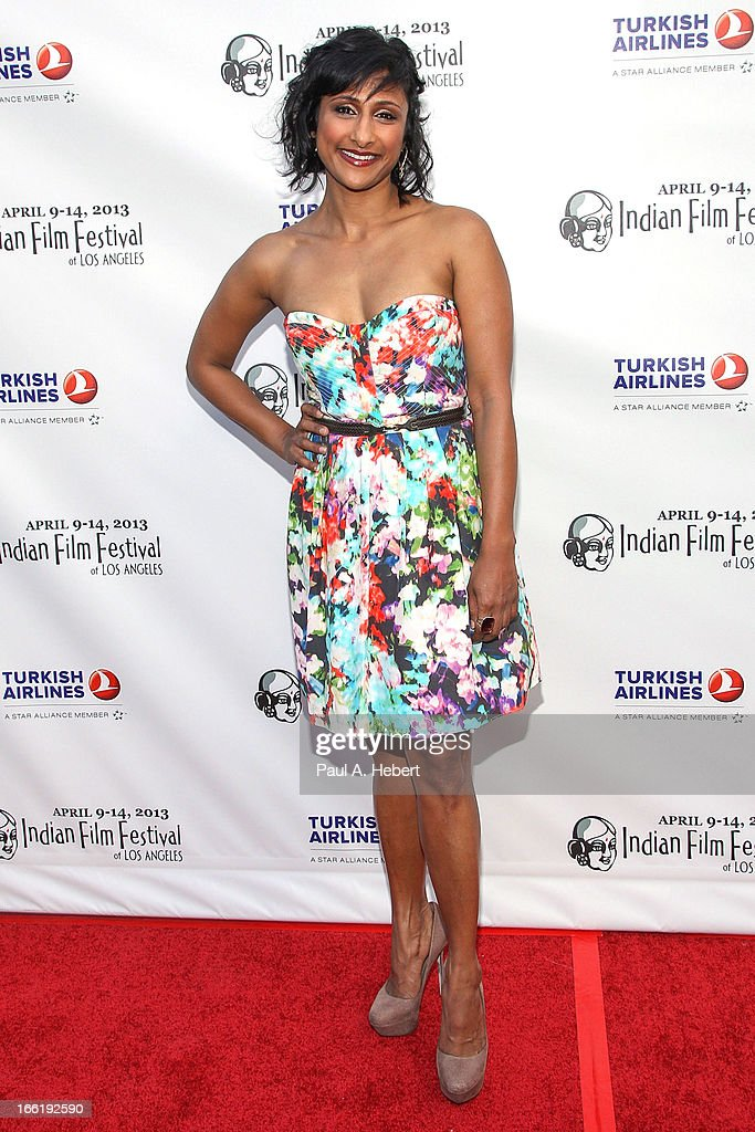 Sarayu Rao attends the Indian Film Festival Of Los Angeles (IFFLA) Opening Night Gala For 'Gangs Of Wasseypur' on April 9, 2013 in Hollywood, California.