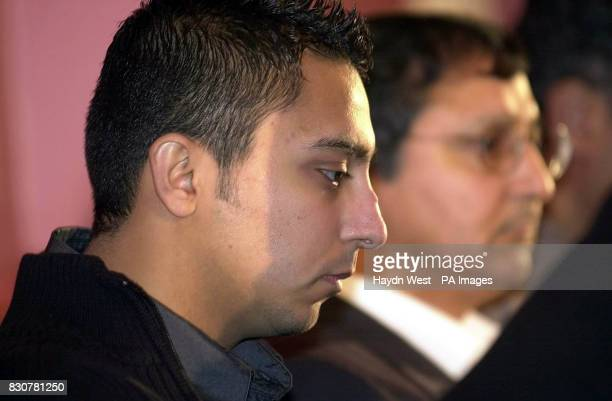 Sarfraz Najeib during the press conference at Leeds Town Hall where he confirmed that he would be taking civil legal action against Leeds United...