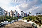 Sarmiento Park Stairs viewpoint (Escaleras) - Cordoba, Argentina
