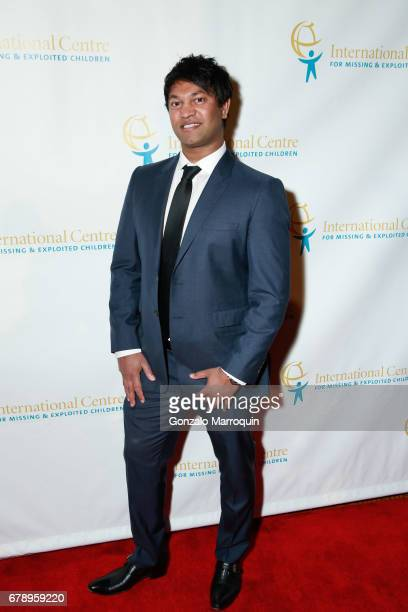 Saroo Brierley attends the International Centre for Missing Exploited Children 2017 Gala for Child Protection at Gotham Hall on May 4 2017 in New...