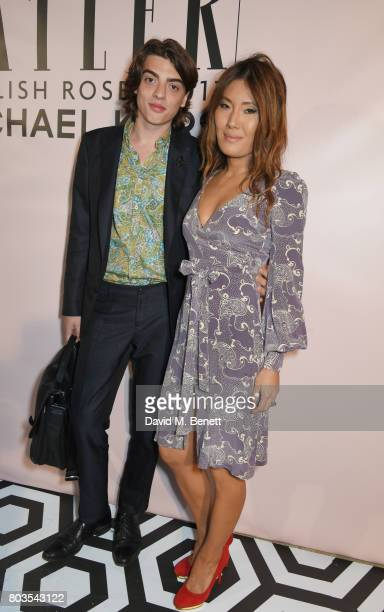 Sascha Bailey and Mimi Nishikawa attend Tatler's English Roses 2017 in association with Michael Kors at the Saatchi Gallery on June 29 2017 in London...