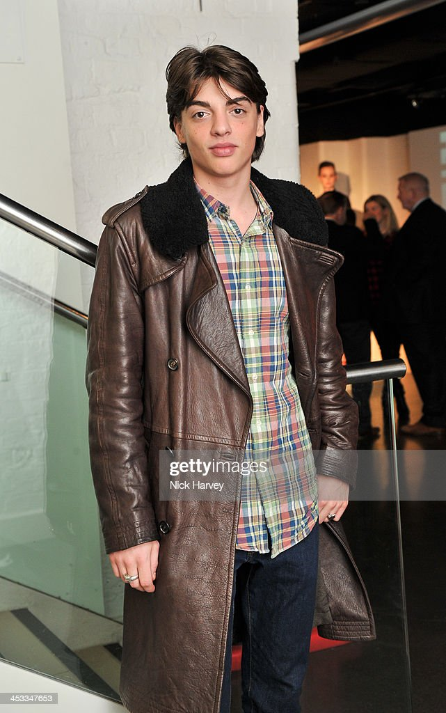 Sascha Bailey attends the Fashion Fringe 10 Year Anniversary Party at the London Film Museum on December 3, 2013 in London, England.