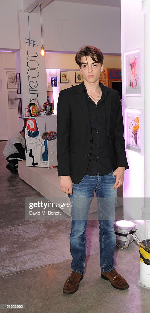 Sascha Bailey attends the Nokia Lumia 630 #100aires Pop-up store, at The Old Truman Brewery on July 2, 2014 in London, England.
