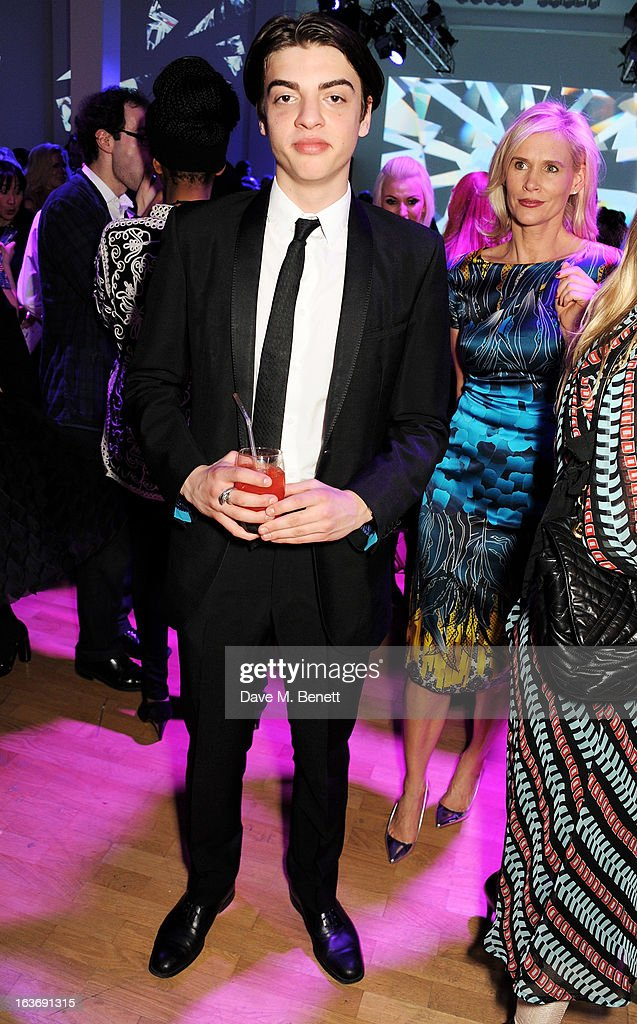 Sascha Bailey attends the Swarovski Whitechapel Gallery Art Plus Fashion fundraising gala in support of the gallery's education fund at The Whitechapel Gallery on March 14, 2013 in London, England.