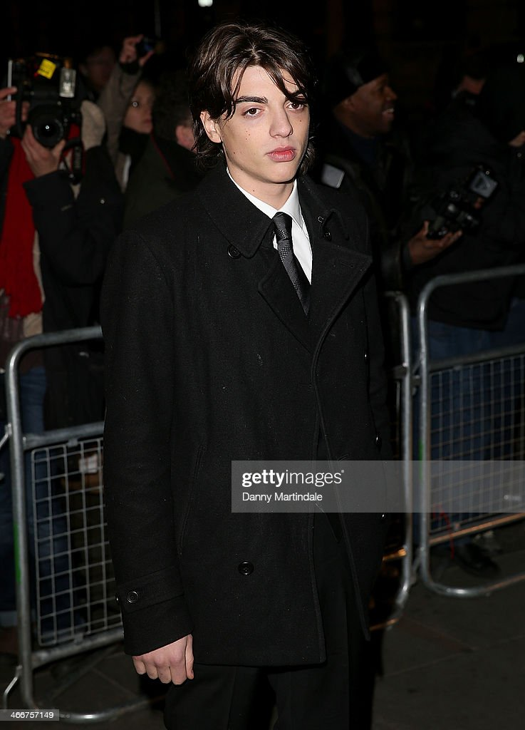 Sascha Bailey attends the VIP private view of David Bailey Bailey's Stardust at National Portrait Gallery on February 3 2014 in London England