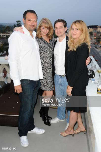 Sascha Ciezata Amy Ellis Brue Tayor and Brooke Clifford attend Bret Easton Ellis to celebrate the publication of his new novel IMPERIAL BEDROOMS at...