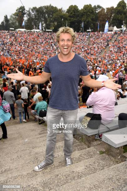 Sascha Grammel during the 'Stars for Free' open air festival by 1046 RTL radio station at KindlBuehne Wuhlheide on August 26 2017 in Berlin Germany
