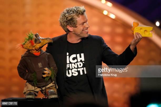 Sascha Grammel during the tv show 'Willkommen bei Carmen Nebel' at Velodrom on May 20 2017 in Berlin Germany