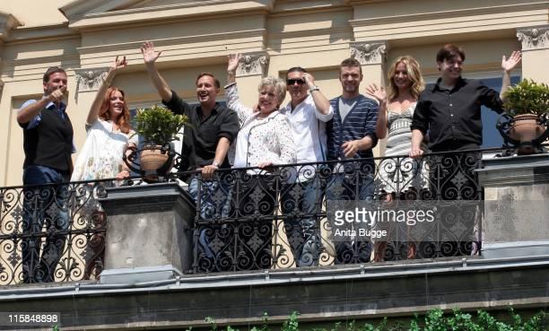 Sascha Hehn Esther Schweins Benno Fürmann MarieLuise Marjan Antonio Banderas Justin Timberlake Cameron Diaz and Mike Myers