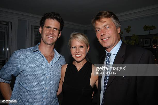 Sascha Lyon Monica Crowley and Richard Johnson attend Party to Celebrate June Haynes' US Citizenship at Private Residence on July 26 2006 in New York...