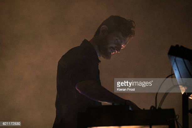 Sascha Ring of Moderat performs at Metropolis Festival at the RDS Concert Hall on November 4 2016 in Dublin Ireland
