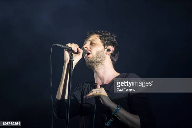 Sascha Ring of Moderat performs on stage during day 3 of Sonar 2017 on June 16 2017 in Barcelona Spain