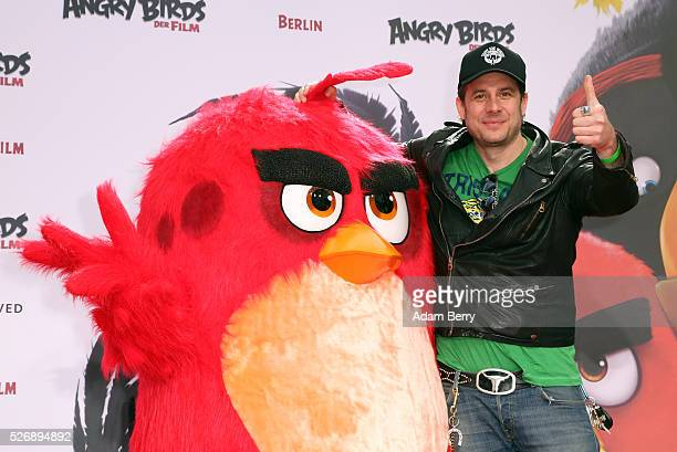 Sascha Vollmer attends the premiere of 'Angry Birds Der Film' on May 01 2016 in Berlin Berlin