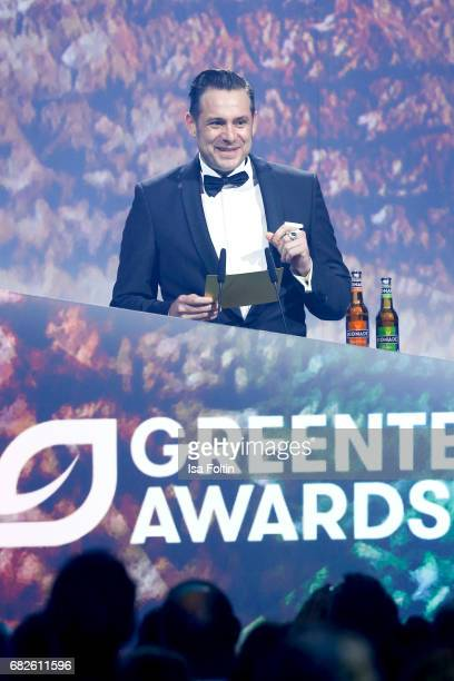 Sascha Vollmer member of the band 'The BossHoss' during the GreenTec Awards Show at ewerk on May 12 2017 in Berlin Germany