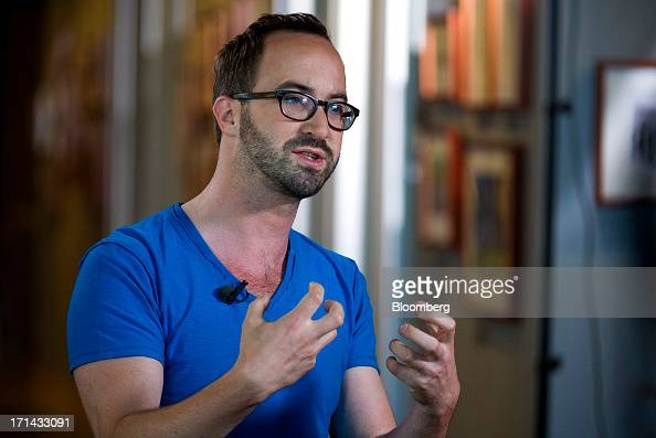 Saschka Unseld director at Pixar speaks during a Bloomberg West television interview at the Pixar Animation Studios headquarters in Emeryville...
