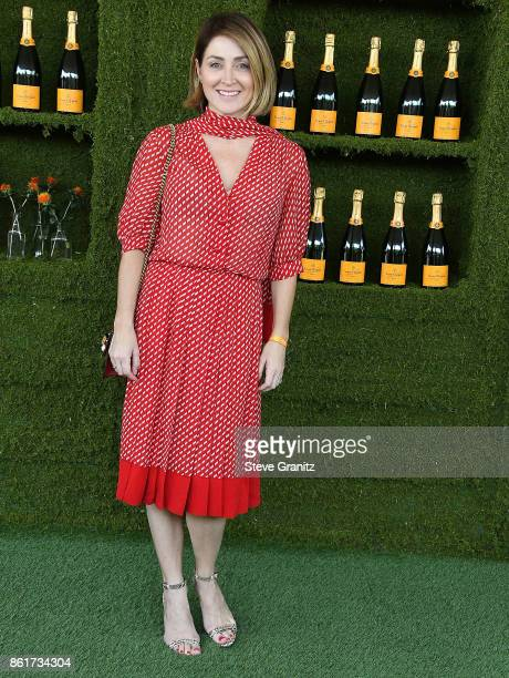 Sasha Alexander arrives at the 8th Annual Veuve Clicquot Polo Classic at Will Rogers State Historic Park on October 14 2017 in Pacific Palisades...