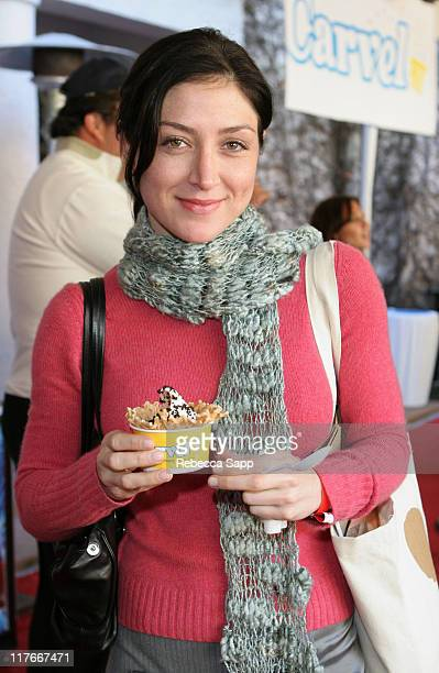 Sasha Alexander at Carvel during Silver Spoon PreGolden Globe Hollywood Buffet Day 2 at Private Residence in Los Angeles California United States...