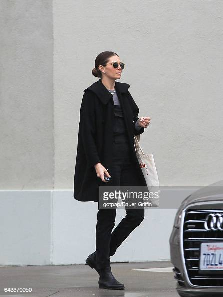 Sasha Alexander is seen on February 20 2017 in Los Angeles California