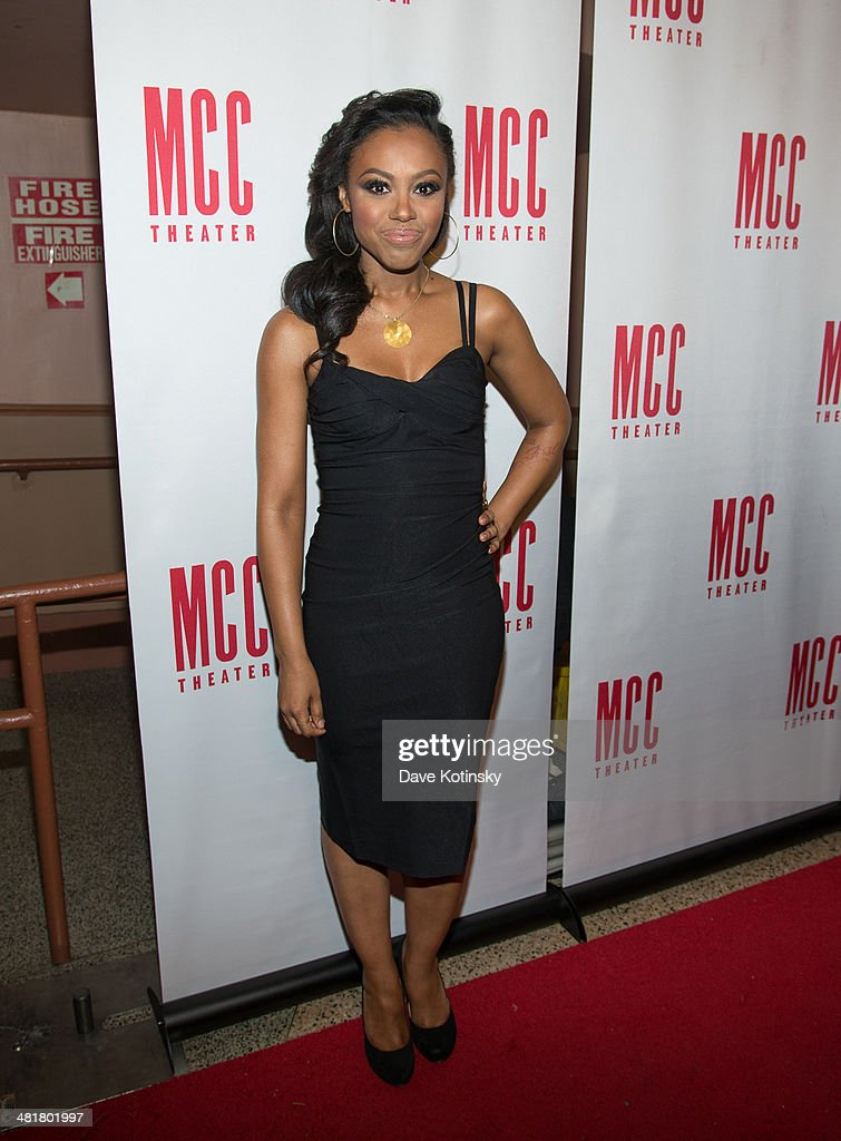 Sasha Allen attends Miscast 2014 at Hammerstein Ballroom on March 31, 2014 in New York City.