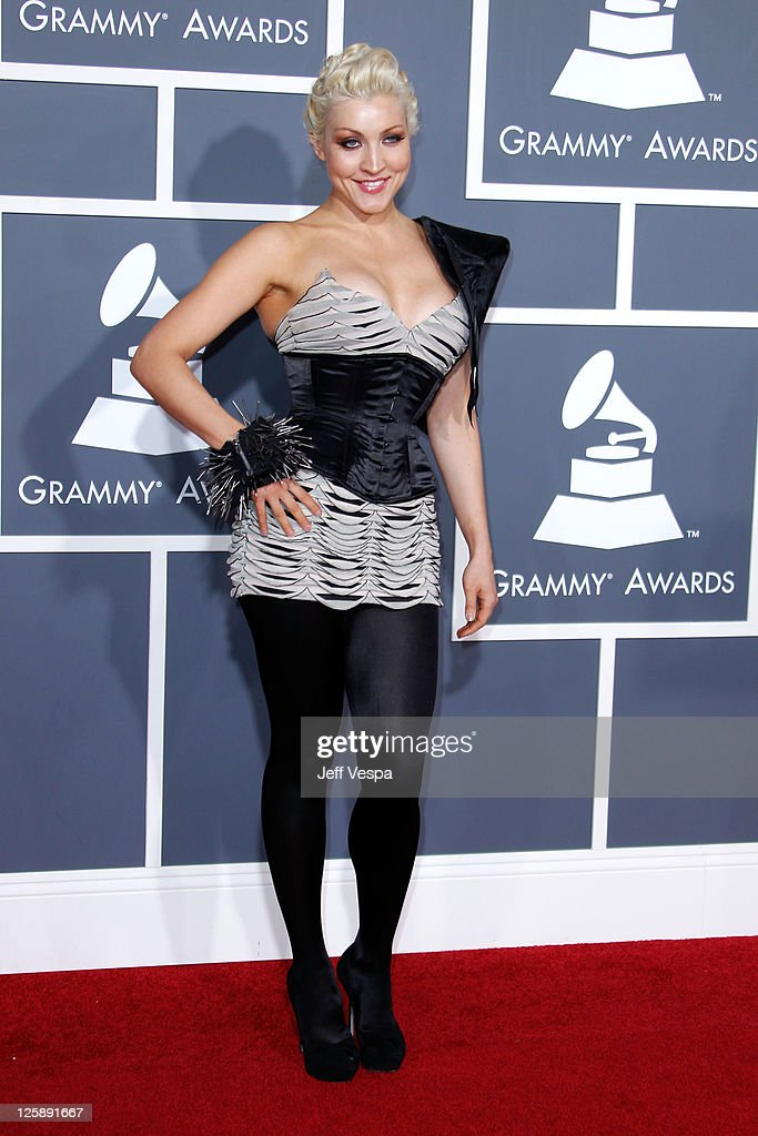Sasha arrives at The 53rd Annual GRAMMY Awards held at Staples Center on February 13 2011 in Los Angeles California