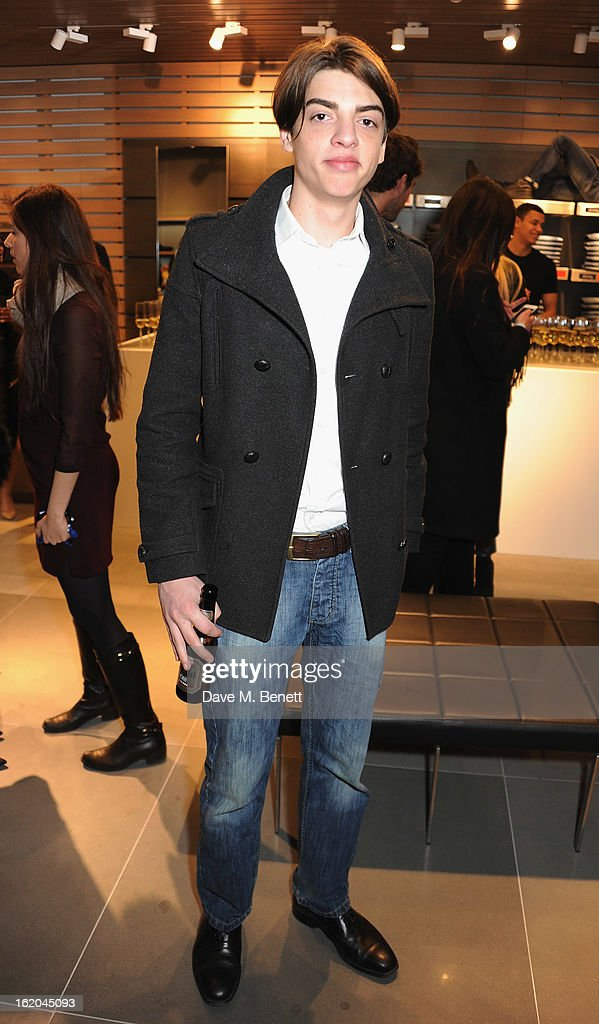 Sasha Bailey attends the Calvin Klein Jeans launch party at their Regent Street store on February 18, 2013 in London, England.