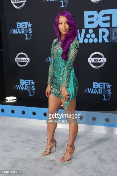 Sasha Banks at the 2017 BET Awards at Microsoft Square on June 25 2017 in Los Angeles California