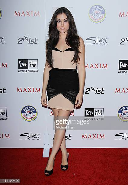 Sasha Grey arrives at the Maxim Hot 100 Party held at Eden on May 11 2011 in Hollywood California