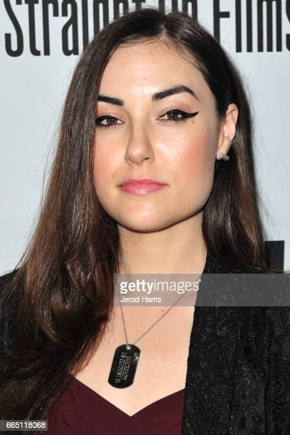 Sasha Grey arrives at the Premiere of 'SHOT The PsychoSpiritual Mantra of Rock' at Pacific Theatres at The Grove on April 5 2017 in Los Angeles...