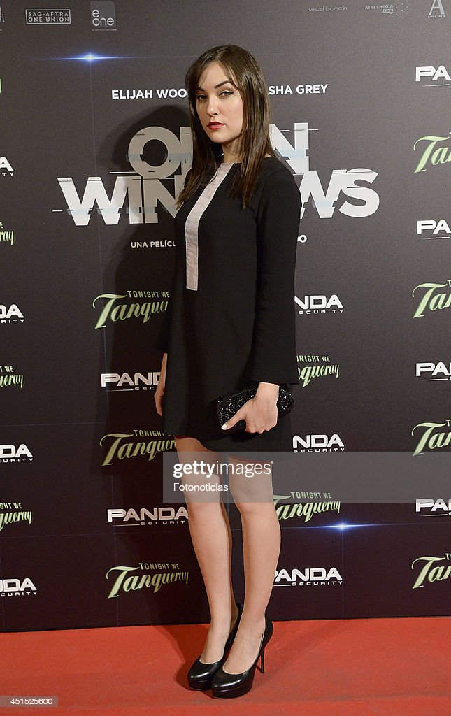 <a gi-track='captionPersonalityLinkClicked' href=/galleries/search?phrase=Sasha+Grey&family=editorial&specificpeople=4453354 ng-click='$event.stopPropagation()'>Sasha Grey</a> attends the 'Open Windows' premiere at Capitol cinema on June 30, 2014 in Madrid, Spain.