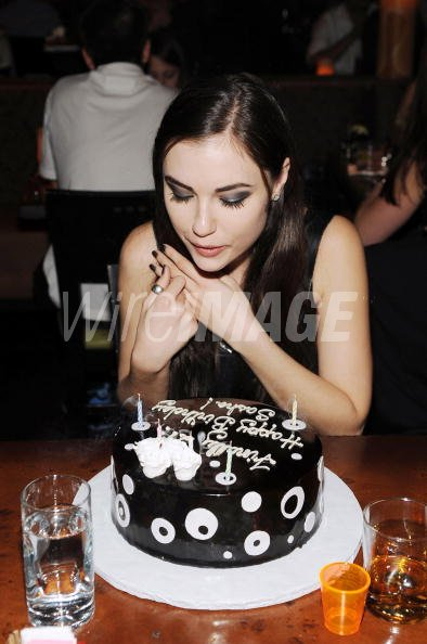 Sasha Grey Celebrates Her 21st Birthday At Tao Las Vegas On March 14 2009 In Nevada