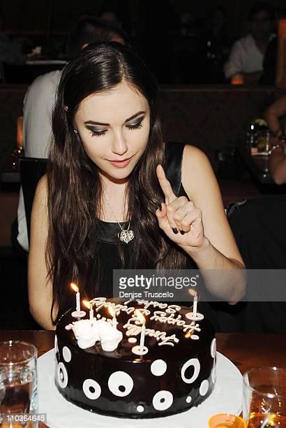 Sasha Grey celebrates her 21st Birthday at Tao Las Vegas on March 14 2009 in Las Vegas Nevada