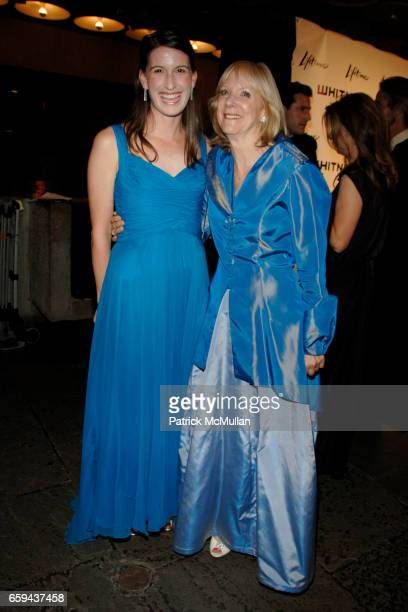 Sasha Nicholas and Barbara Haskell attend GEORGIA O'KEEFFE 'ABSTRACTION' Opening Reception and Dinner at The Whitney Museum on September 16 2009 in...