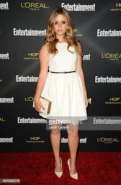 Sasha Pieterse attends the 2014 Entertainment Weekly preEmmy party at Fig Olive Melrose Place on August 23 2014 in West Hollywood California