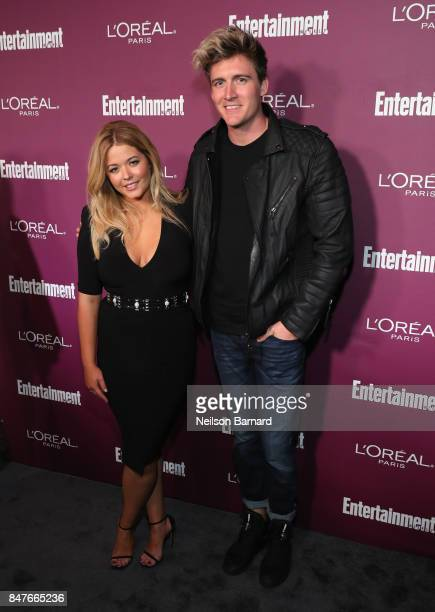 Sasha Pieterse attends the 2017 Entertainment Weekly PreEmmy Party at Sunset Tower on September 15 2017 in West Hollywood California