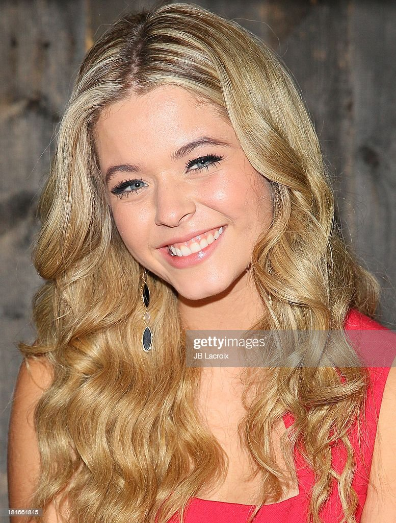 <a gi-track='captionPersonalityLinkClicked' href=/galleries/search?phrase=Sasha+Pieterse&family=editorial&specificpeople=2237740 ng-click='$event.stopPropagation()'>Sasha Pieterse</a> attends the Pretty Pink Beauty Night hosted by <a gi-track='captionPersonalityLinkClicked' href=/galleries/search?phrase=Sasha+Pieterse&family=editorial&specificpeople=2237740 ng-click='$event.stopPropagation()'>Sasha Pieterse</a> of 'Pretty Little Liars' held at Tiato on October 14, 2013 in Santa Monica, California.
