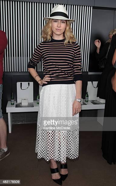 Sasha Sarokin of NetAPorter attends the Ellery show during MercedesBenz Fashion Week Australia 2014 at Bondi Icebergs Dining Room on April 7 2014 in...