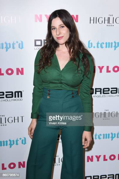 Sasha Spielberg attends NYLON's It Girl Party At The Highlight Room At Dream Hollywood on October 12 2017 in Hollywood California