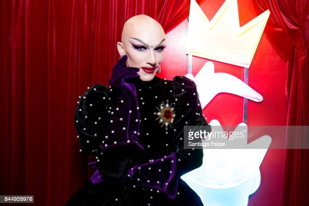 Sasha Velour attends RuPaul's DragCon NYC 2017 at The Jacob K Javits Convention Center on September 9 2017 in New York City