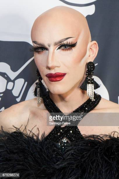Sasha Velour attends the 3rd Annual RuPaul's DragCon at Los Angeles Convention Center on April 30 2017 in Los Angeles California