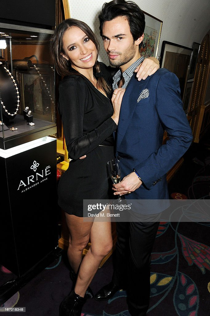 Sasha Volkova (L) and Mark Francis Vandelli attend the Tatler's Little Black Book party at Annabel's on November 5, 2013 in London, England.