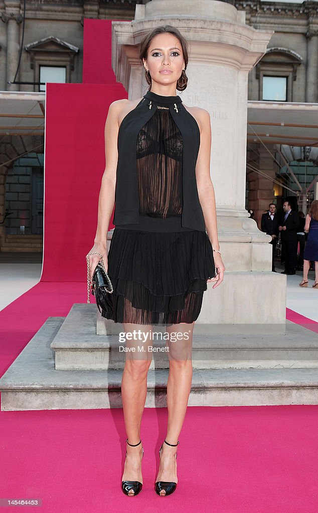 Sasha Volkova arrive at the Royal Academy of Arts Summer Exhibition Preview Party at Royal Academy of Arts on May 30, 2012 in London, England.