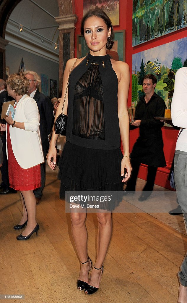Sasha Volkova attends the Royal Academy of Arts Summer Exhibition Preview Party at Royal Academy of Arts on May 30, 2012 in London, England.