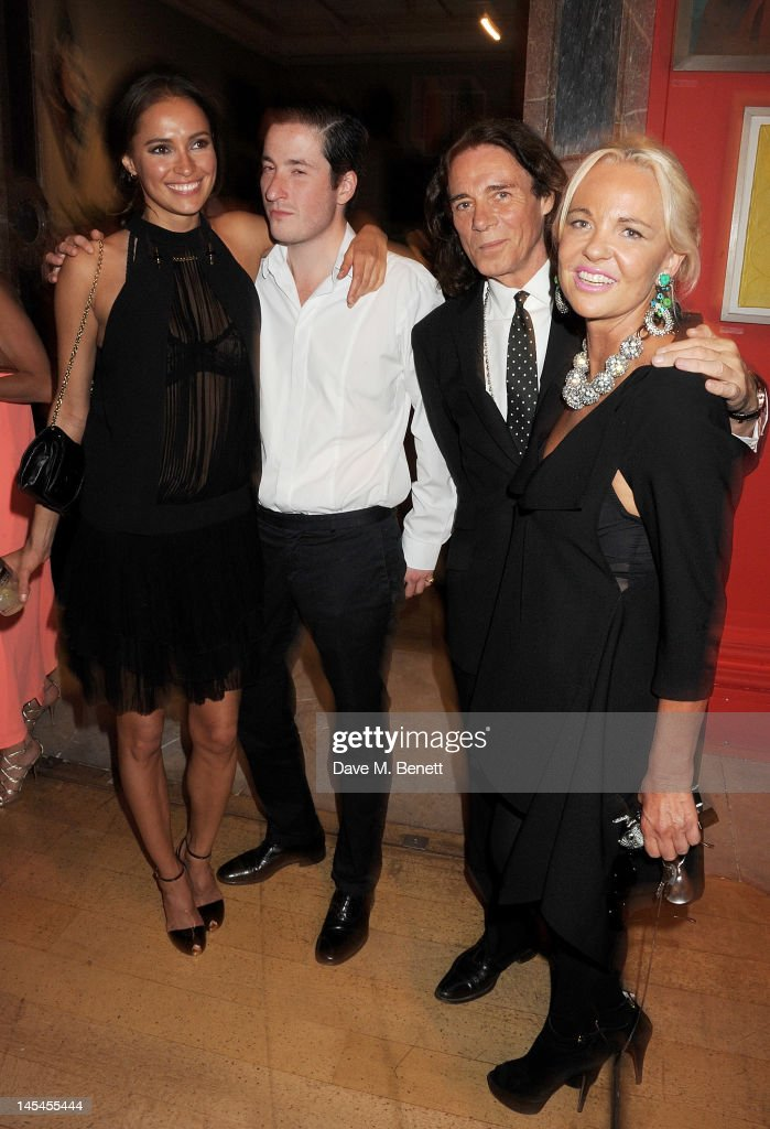 Sasha Volkova Blaise Patrick George Blodwell and Amanda Eliasch attend the Royal Academy of Arts Summer Exhibition Preview Party at Royal Academy of...