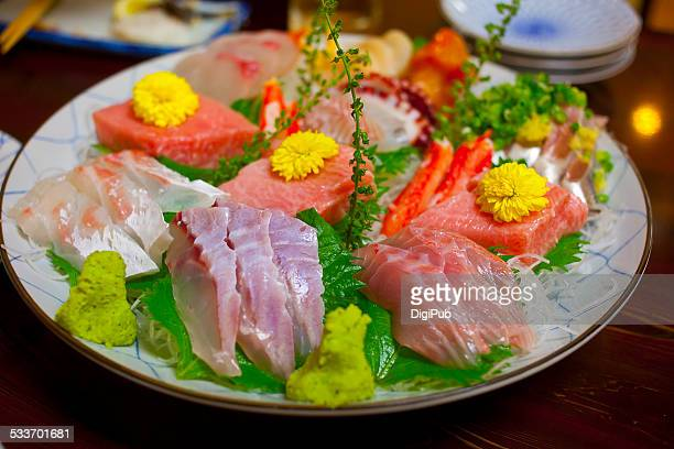 Sashimi for three